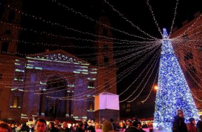 Basilica Christmas Market Budapest