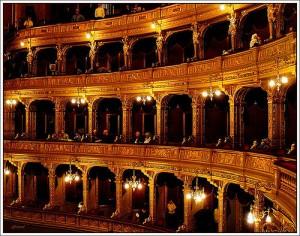 Budapest Opera House on New Years Eve