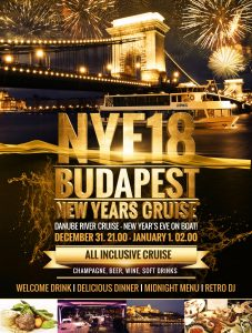 Budapest NYE Retro Cruise
