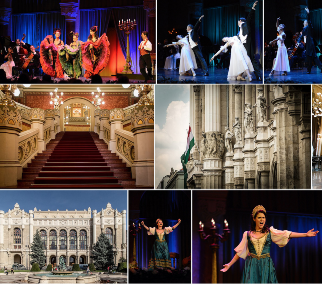 Budapest Pesti Vigado Gala Concert Show collage
