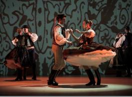Hungarian Folk Dance Show Budapest