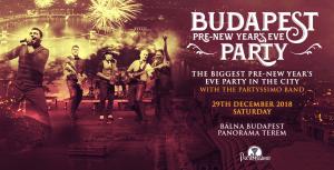 Budapest Pre-NYE Retro Party